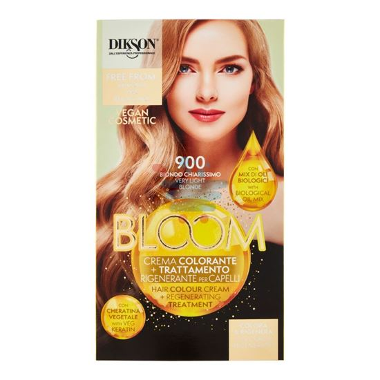 DIKSON BLOOM CREMA COLORANTE 900 BIONDO CHIARISSIMO