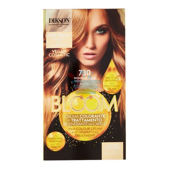 DIKSON BLOOM CREMA COLORANTE 730 BIONDO DORATO