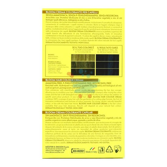 DIKSON BLOOM CREMA COLORANTE 111 NERO BLU