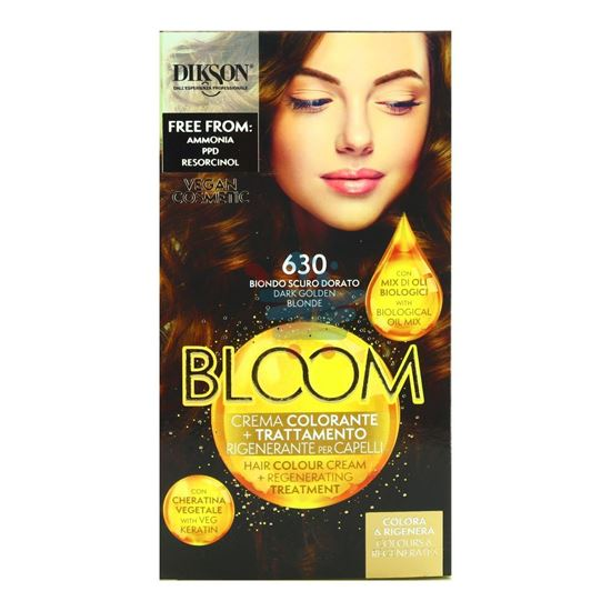 DIKSON BLOOM CREMA COLORANTE 630 BIONDO SCURO DORATO