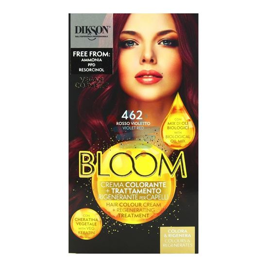 DIKSON BLOOM CREMA COLORANTE 462 ROSSO VIOLETTO