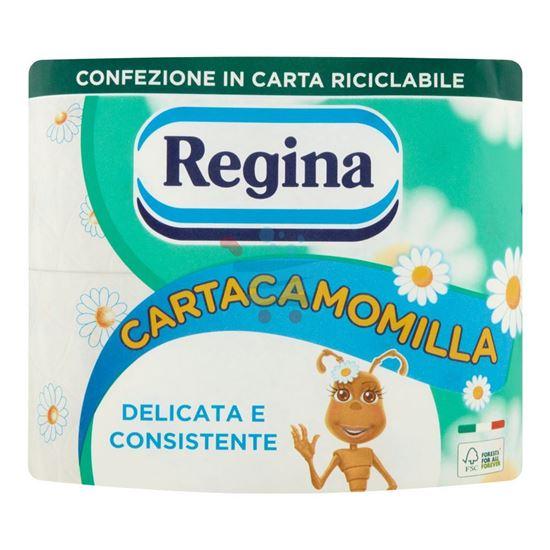 REGINA CARTA IGIENICA CAMOMILLA 4 ROTOLI