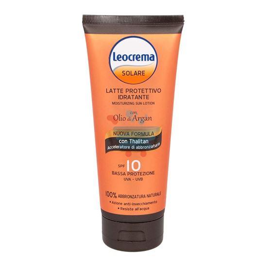 LEOCREMA LATTE SOLARE ALL'ARGAN FP10 200 ML
