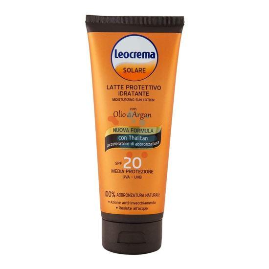 LEOCREMA LATTE SOLARE ALL'ARGAN FP20 200 ML