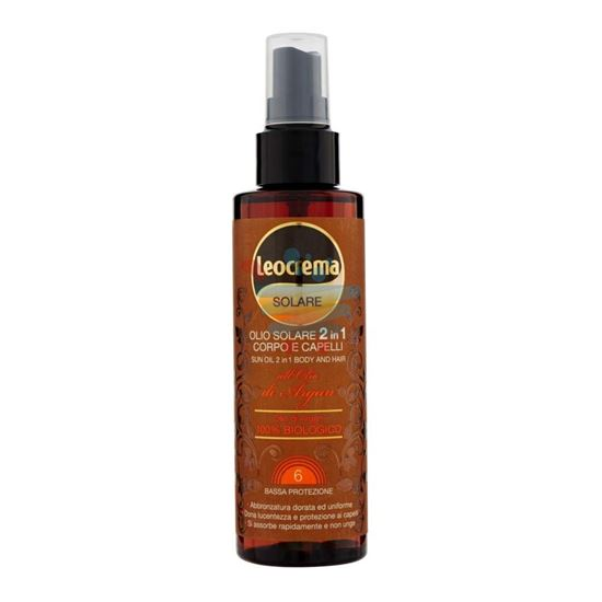 LEOCREMA SOLARE OLIO ARGAN SPRAY SUPER ABBRONZANTE 150 ML