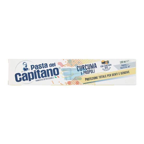 PASTA DEL CAPITANO DENTIFRICIO  CURCUMA 100 ML