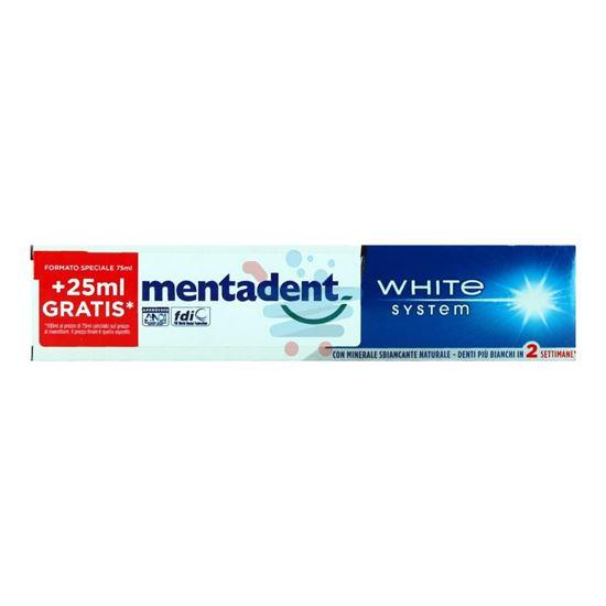 MENTADENT DENTIFRICIO WHITE SYSTEM 100 ML
