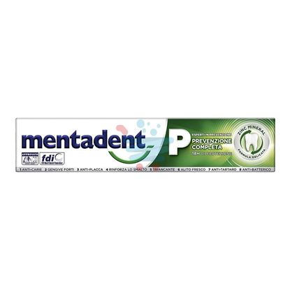 MENTADENT P DENTIFRICIO 75 ML