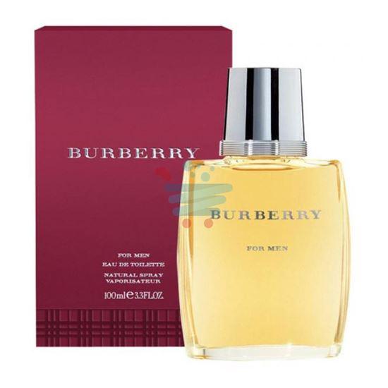 BURBERRY FOR MEN EAU DE TOILETTE SPRAY 100 ML