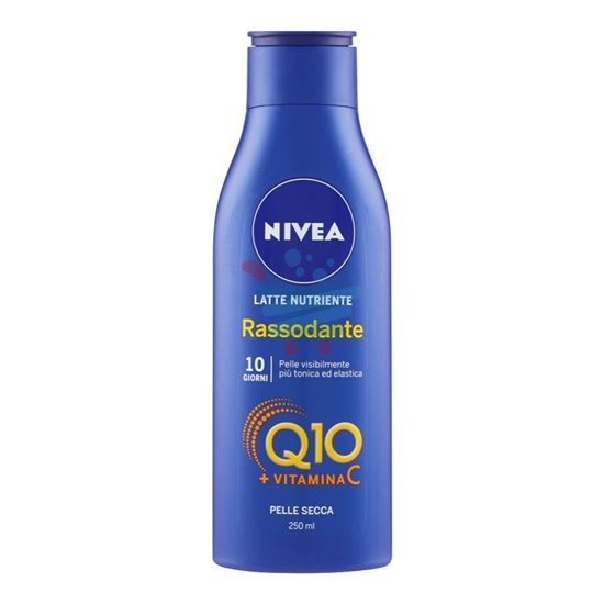 NIVEA LATTE NUTRIENTE RASSODANTE Q10 + VITAMINA C 250 ML