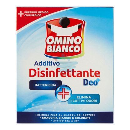 OMINO BIANCO ADDITIVO DISINFETTANTE IN POLVERE 450 GR