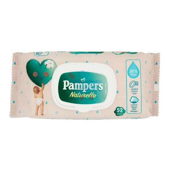 PAMPERS NATURELLO SALVIETTINE 52 PZ