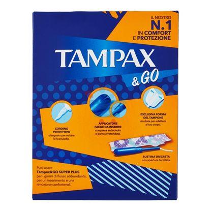 TAMPAX & GO SUPER PLUS 18 PEZZI