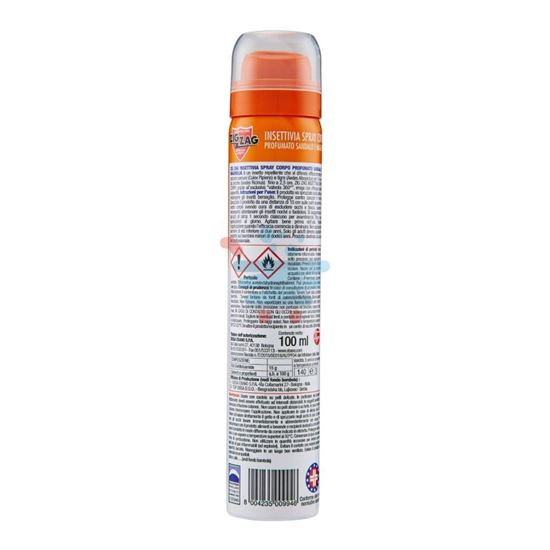 ZIG ZAG INSETTI VIA! REPELLENTE SPRAY AL SANDALO 100ML
