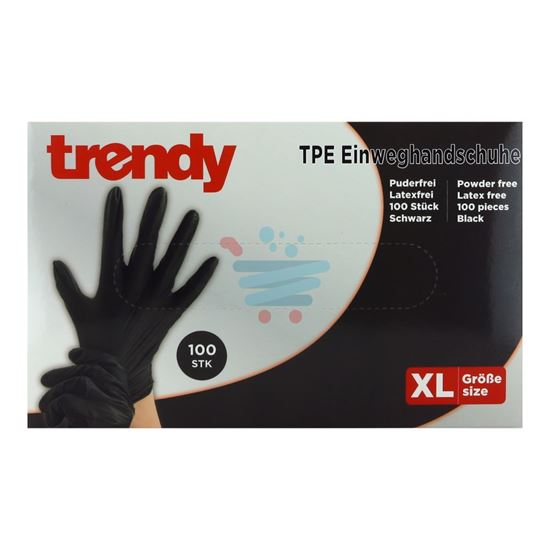 TRENDY GUANTI TPE LATEX FREE 100% 100PZ  MIS. XL