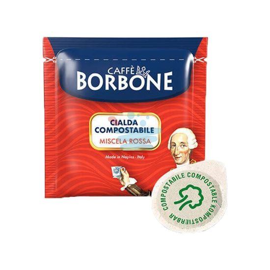 CAFFE' BORBONE CIALDA ROSSA 50PZ