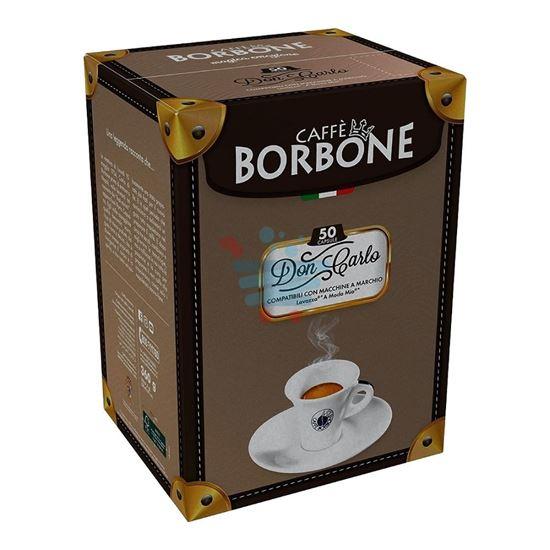 CAFFE' BORBONE DON CARLO A MODO MIO NERA 50 CAPS