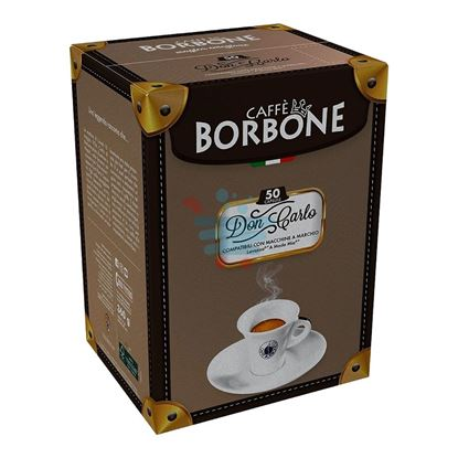 CAFFE' BORBONE DON CARLO A MODO MIO ROSSA 100CAPS