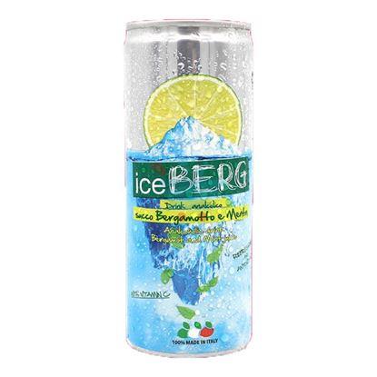 ICEBERG DRINK ANALCOLICO BERGAMOTTO E MENTA 250ML
