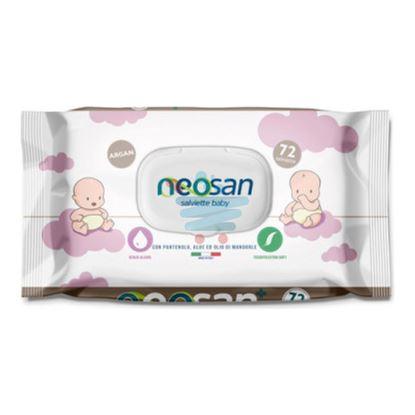 EUDOREX NEOSAN SALVIETTE BABY ARGAN 72PZ