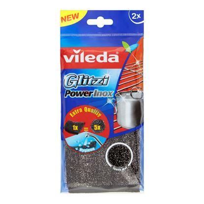 VILEDA GLITZI POWER INOX 2 PEZZI