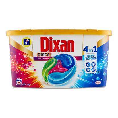 DIXAN 4IN1 DISCS COLOR 25 PEZZI