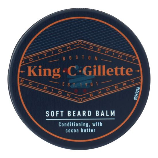 KING C GILLETTE BALSAMO DELICATO BARBA 100ML