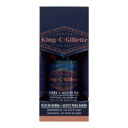 KING C GILLETTE OLIO DA BARBA ARGAN 30ML