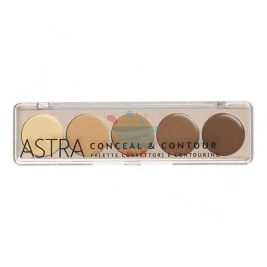 ASTRA CONCEAL & CONTOUR PALETTA