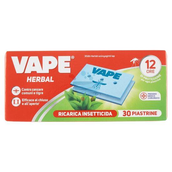 VAPE PIASTRINE RICARICA INSETTICIDA HERBAL 30 PIASTRINE