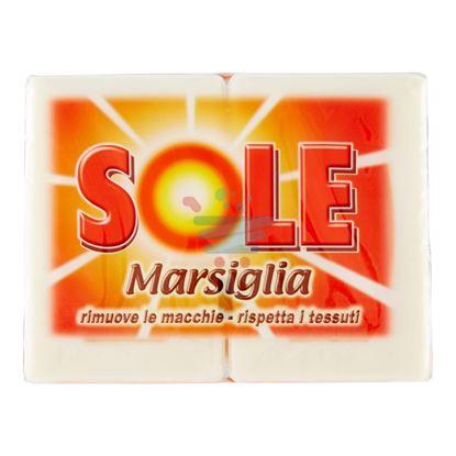SOLE SAPONE DURO DI MARSIGLIA 2 PEZZI