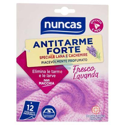 NUNCAS ANTITARME FORTE FRESCO LAVANDA 12PZ